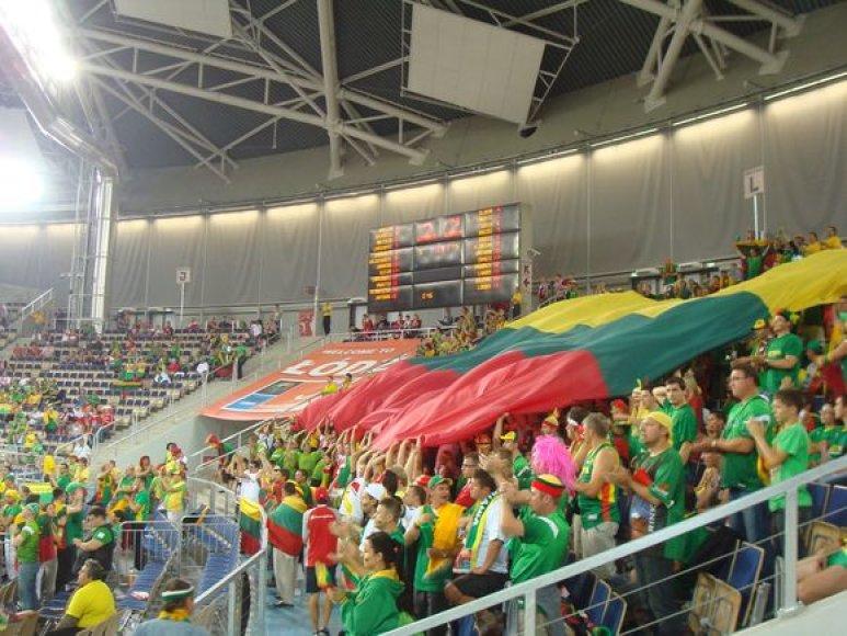 Lietuvos sirgaliai Lodzėje