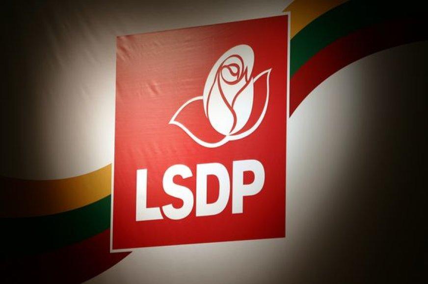 Lietuvos socialdemokratų partijos atributika