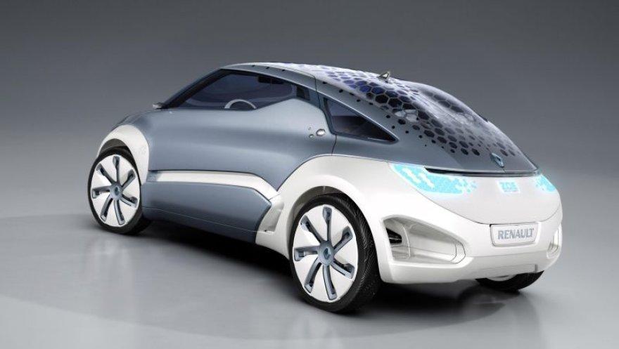 """""""Renault"""" ir """"Biotherm"""" drauge kurs naują elektra varomą SPA koncepcinį ZOE Z.E. modelį."""