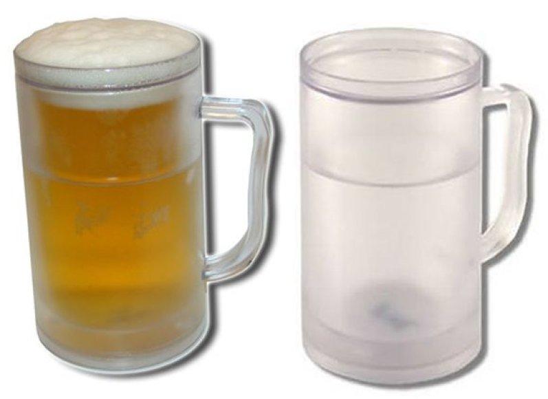Šaltas alaus bokalas