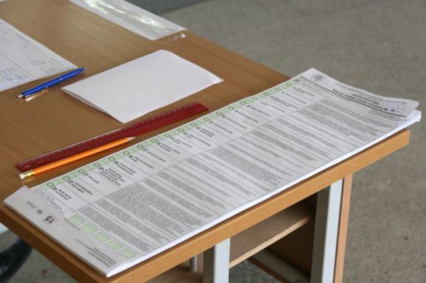 Balsavimo biuletenis