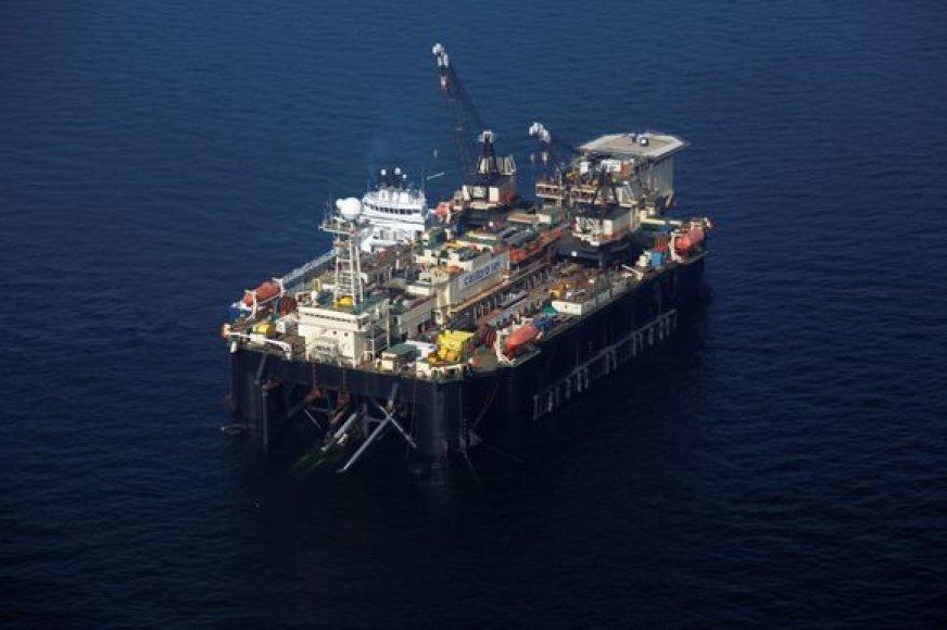 """Tiesiamas """"Nord Stream"""" dujotiekis"""