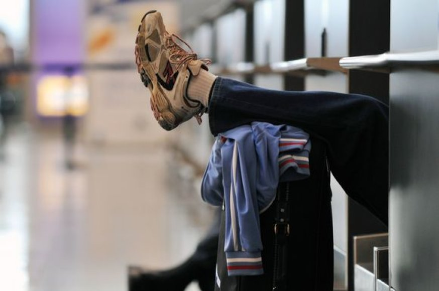 Keleivis, įstrigęs Stambulo oro uoste