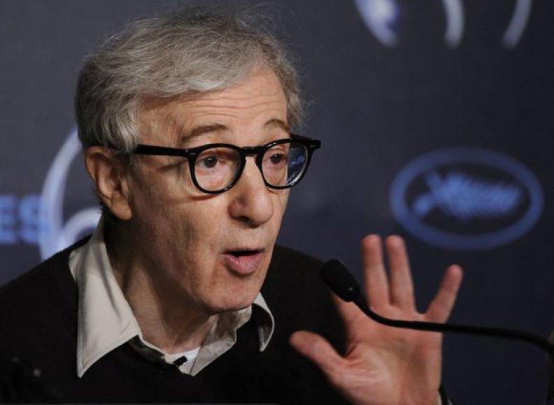 Režisierius Woody Allenas