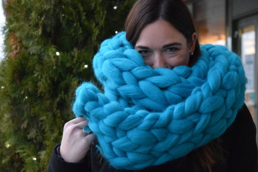 """""""Kristi knitting"""" nuotr. /""""Kristi knitting"""" AVIES kolekcijos aksesuarai"""