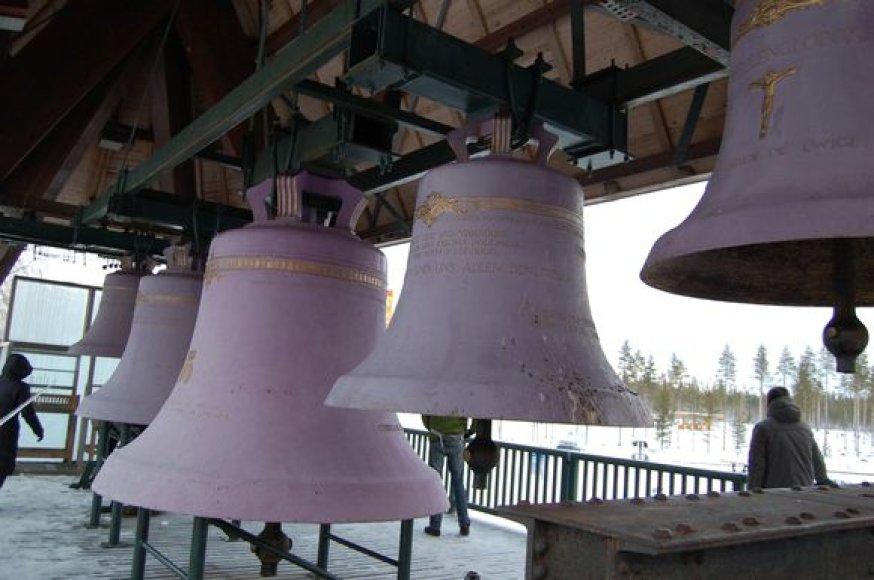 Suomijos varpai ir jų nepakartojamas skambesys – Vaskikelo muziejuje.