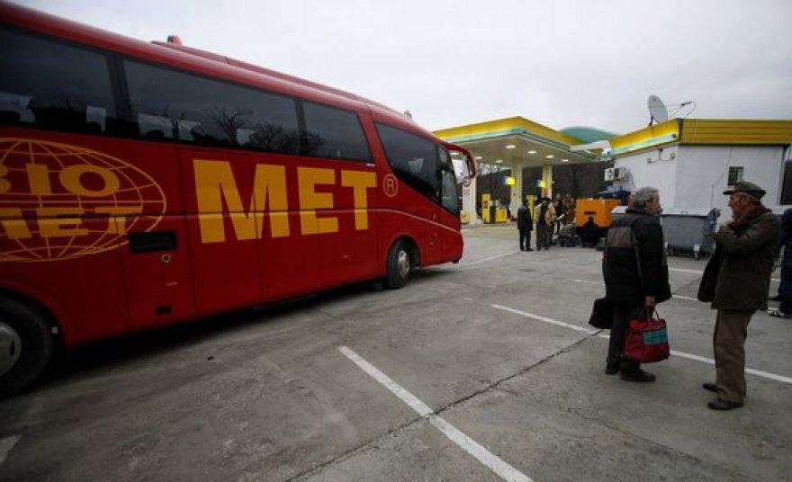 Bulgarijoje buvo užgrobtas autobusas.