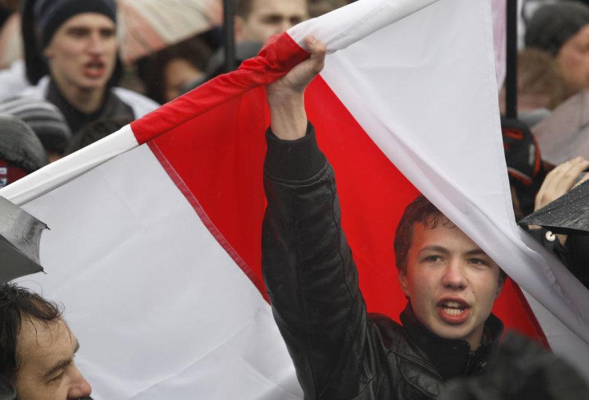 Mitingas Minske