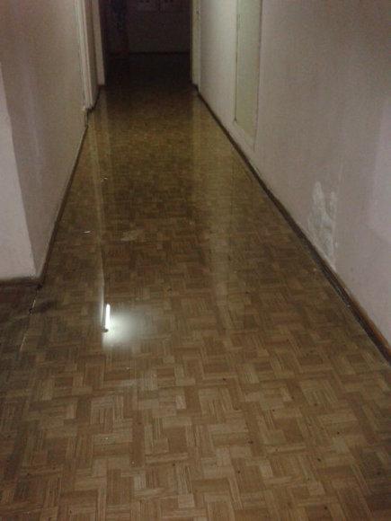 Vandens apsemtas koridorius