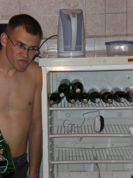 Studento šaldytuvas.