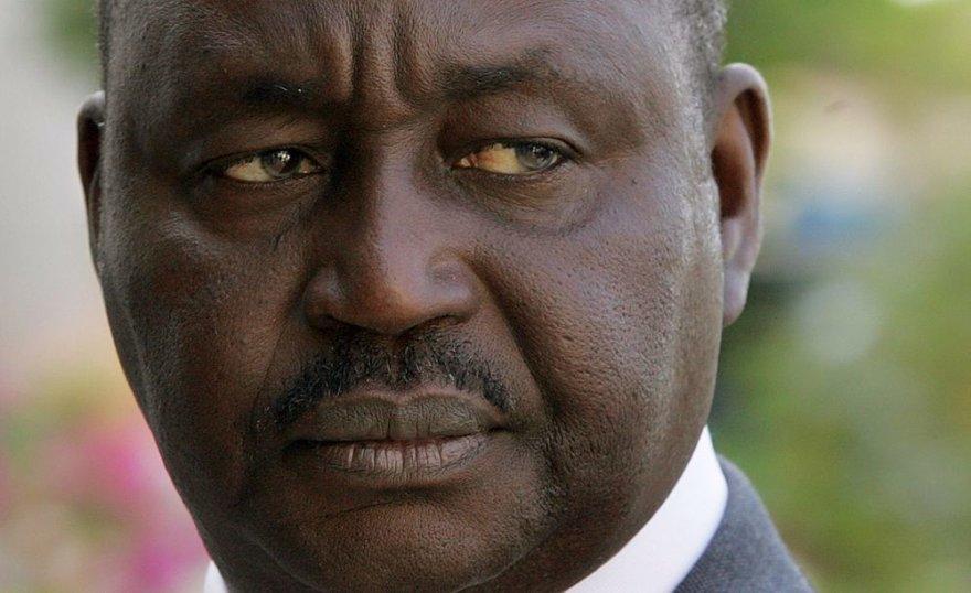 Centrinės Afrikos Respublikos prezidentas Francois Bozize