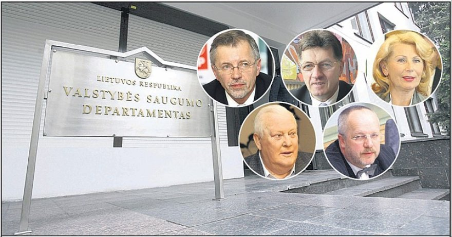 Suįžulėjusio VSD čiuptuvai Seime.