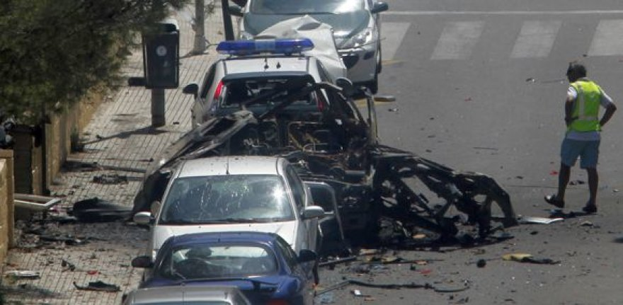Populiarios kurortinės Ispanijos salos Maljorkos ramybę sutrikdė sprogimas.