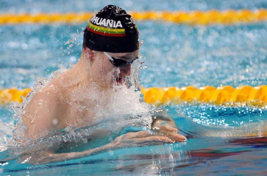 Plaukikas iš Lietuvos Giedrius Titenis Romoje vykstančiame pasaulio vandens sporto šakų čempionate iškovojo bronzos medalį.