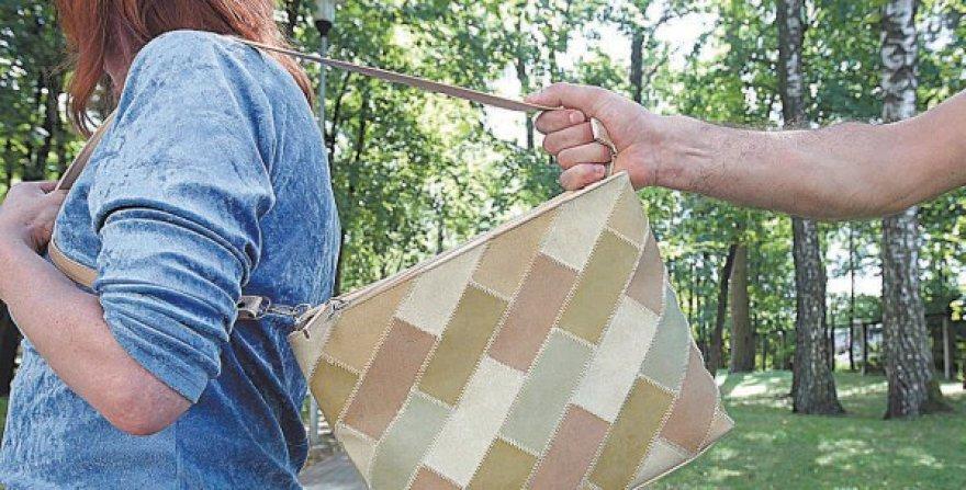 Rankinės iš rankų dažnai išplėšiamos net dienos metu.