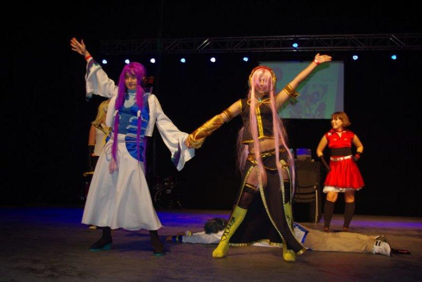 Vilniaus Teatro arenoje paskutinysis vasaros savaitgalis praėjo japonišku ritmu.