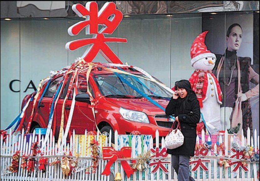 Sparčiausiai pasaulyje šiemet augs Kinijos ekonomika.