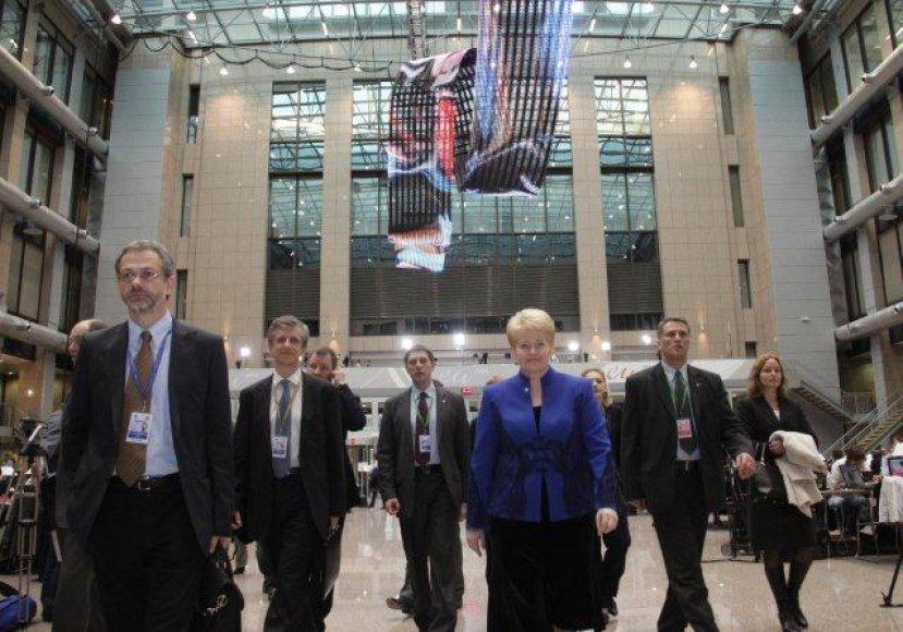 D.Grybauskaitė – ES Vadovų tarybos posėdyje, Briuselyje