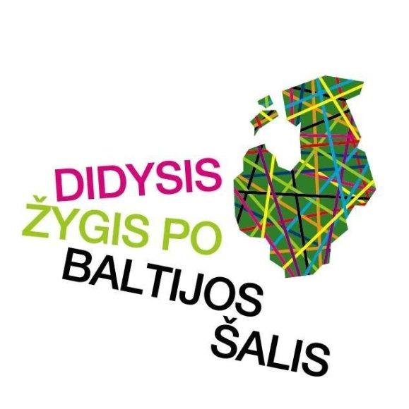 """Prasidėjo naujas kelionių projektas """"Didysis žygis po Baltijos šalis 2010""""."""