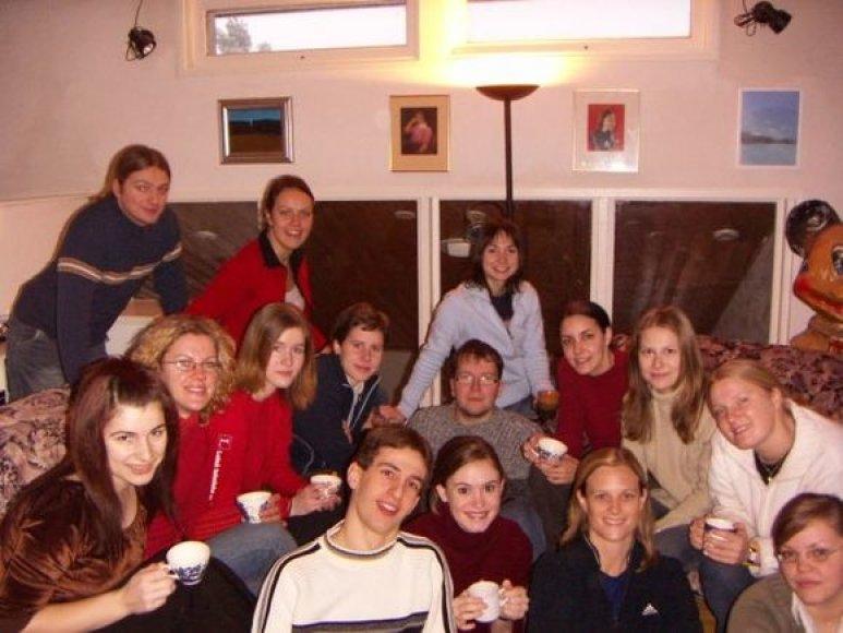 Jelena ir Oulu universitete rasti draugai