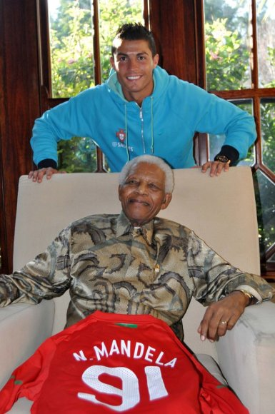 N.Mandela su Cristiano Ronaldo