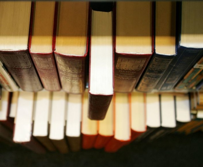 Tarp dažniausiai klientų paliekamų daiktų – knygos.