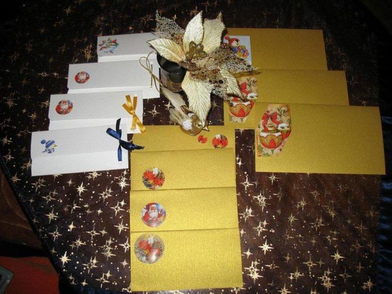 Kalėdiniai vokeliai