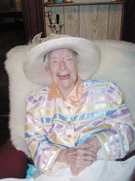 Teksase mirė seniausia pasaulyje moteris Eunice Sanborn.
