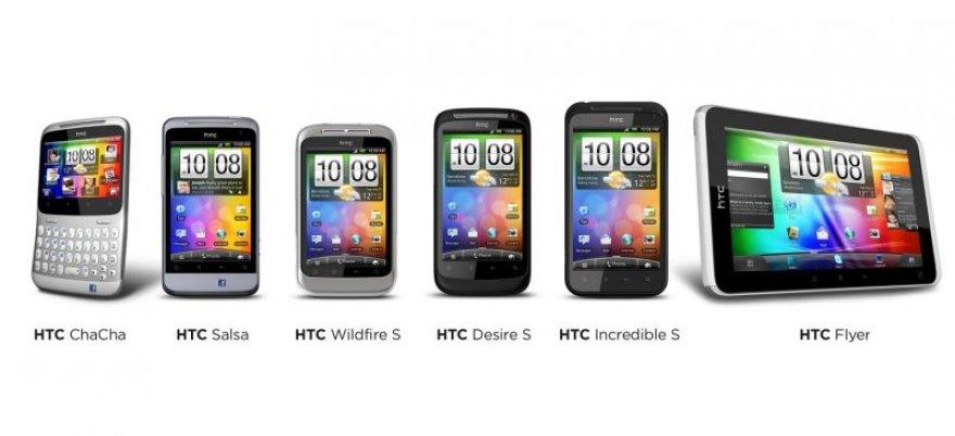 """HTC pristatė penkis naujus telefonus: """"HTC ChaCha"""" ir """"HTC Salsa"""" su """"Facebook"""" integracija bei """"HTC Desire S"""", """"HTC Wildfire S"""" ir """"HTC Incredible S"""" ir planšetinį kompiuterį """"HTC Flyer""""."""