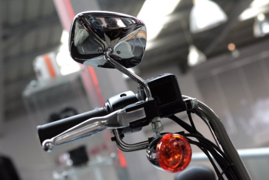 Motociklo fragmentas