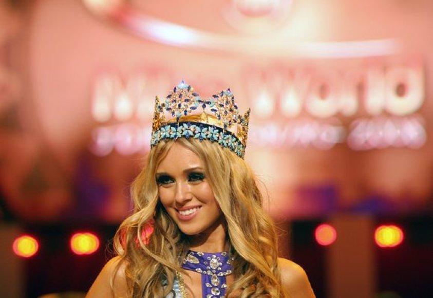 Mis Rusija Ksenija Suchinova iškovojo ir Mis Pasaulis titulą.