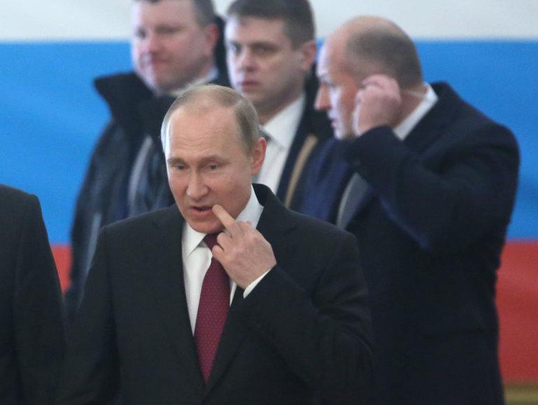 """AFP/""""Scanpix"""" nuotr./Prezidento rinkimai Rusijoje"""