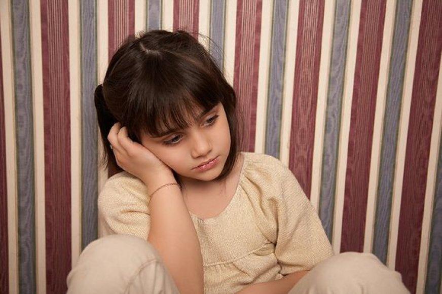Liūdna mergaitė