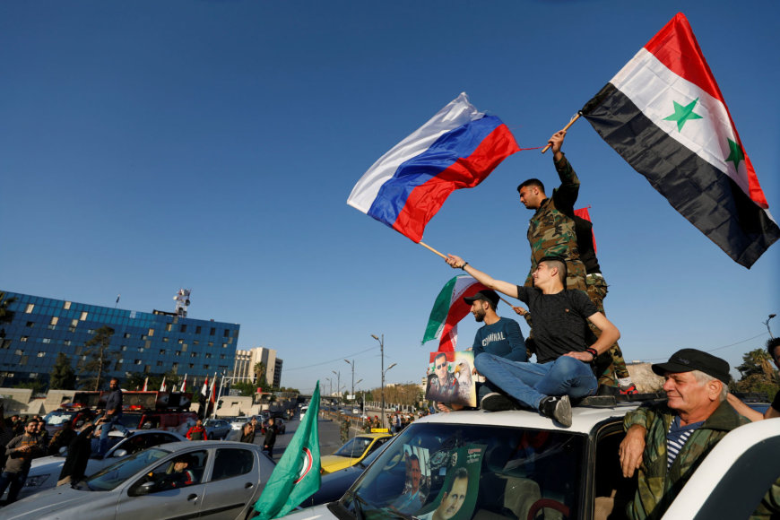 """Reuters""/""Scanpix"" nuotr./Protestas Damaske"