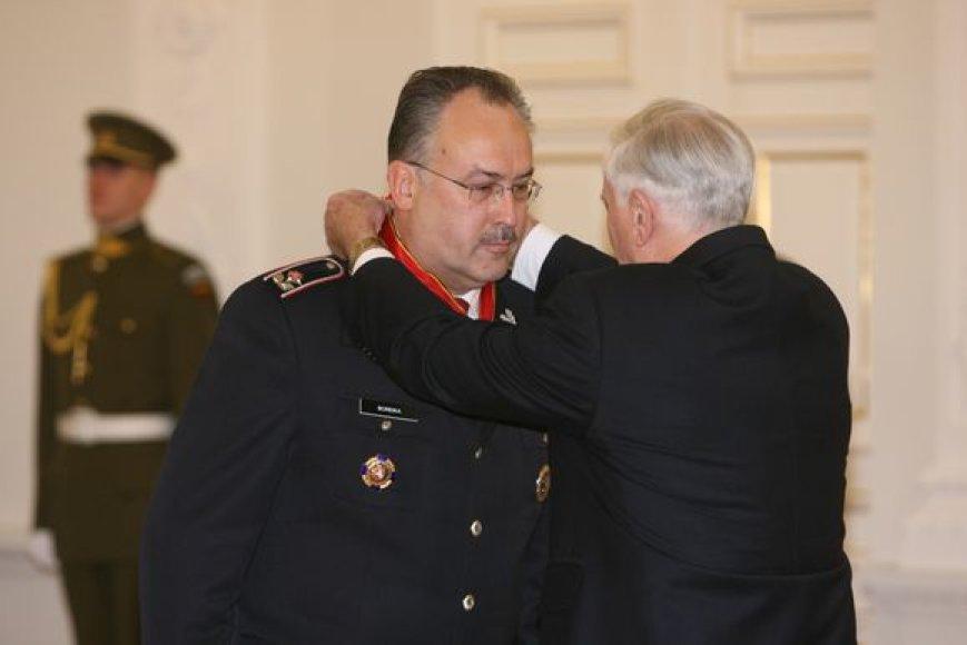 FNTT vadovas  Romualdas Boreika