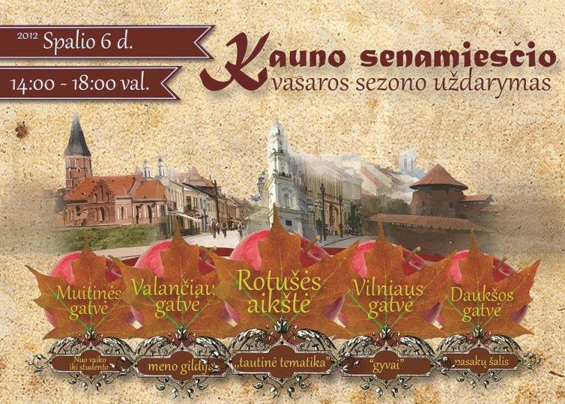 Šventės plakatas