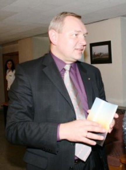 Alytaus miesto meras Česlovas Daugėla