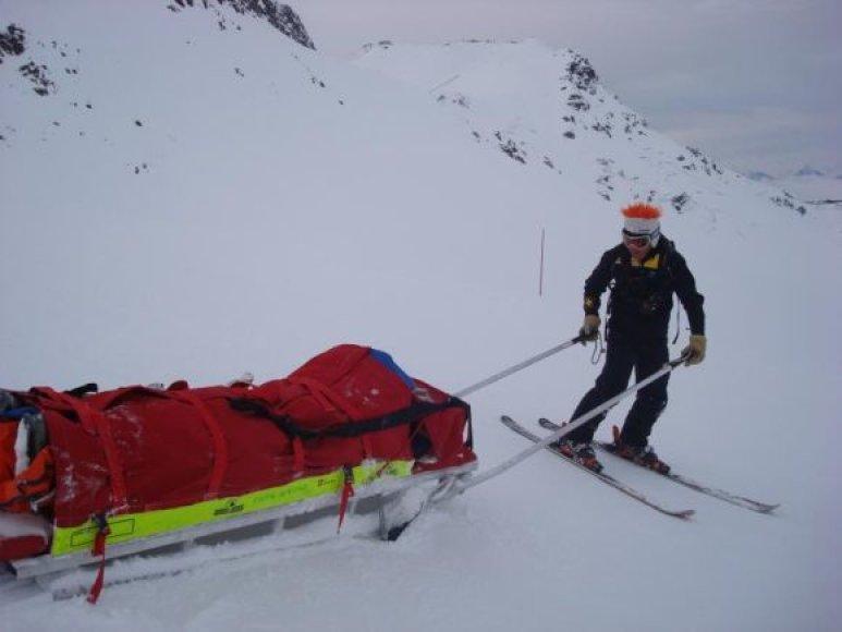 Les Trois Vallées (Trys slėniai): slidinėjimas šalia Saint Martin