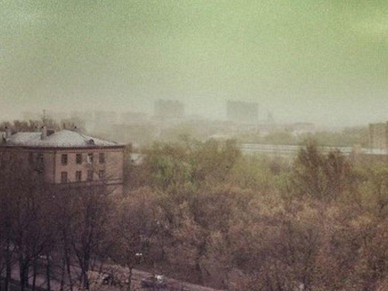 Žali debesys virš Maskvos