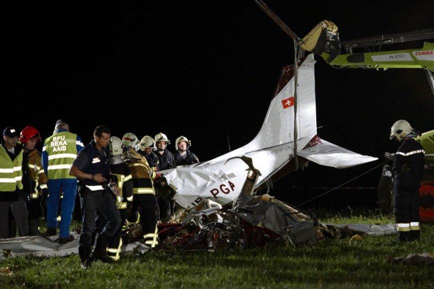 Lėktuvo aviakatastrofa Šveicarijoje