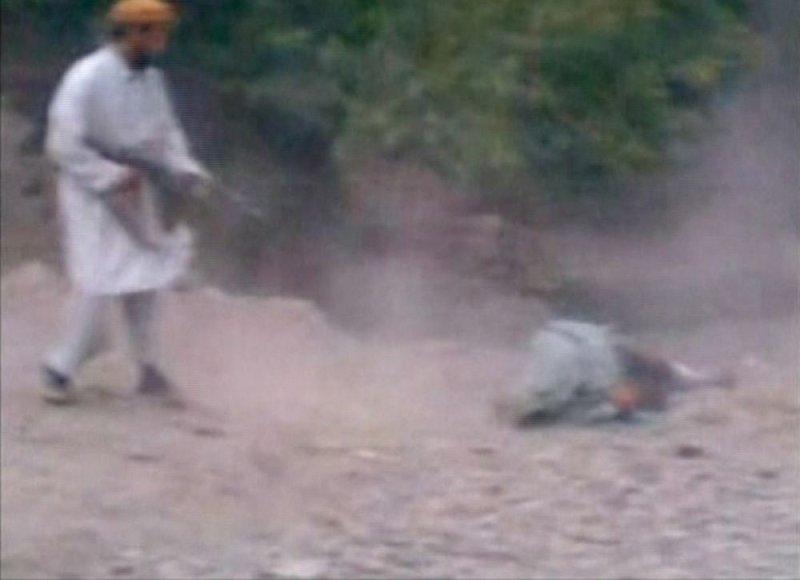 Žiauri egzekucija Afganistane