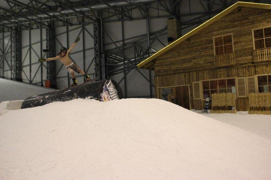 Mantas I. slidinėja ir vasarą