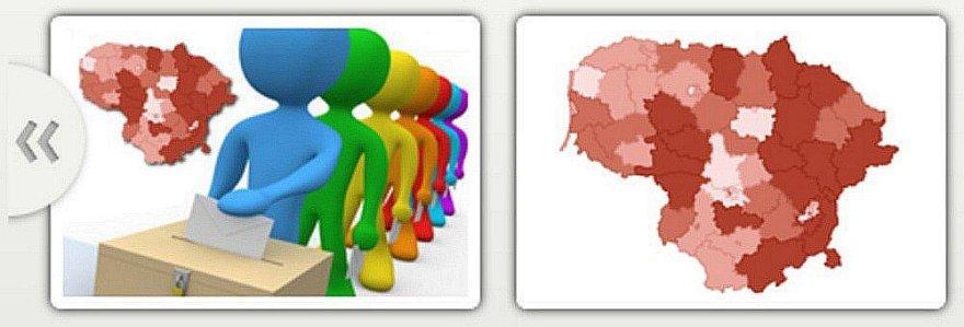 maps.lt interaktyvūs žemėlapiai