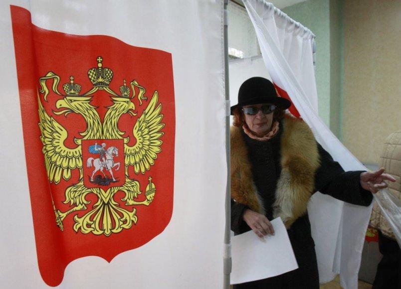 Savivaldos rinkimai Rusijoje