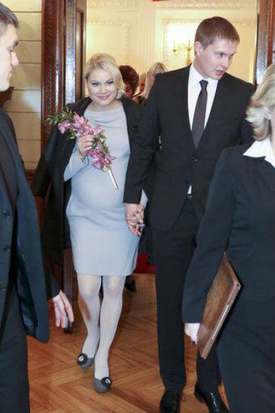 Vestuvių akimirka (T.Biliūno nuotr.)