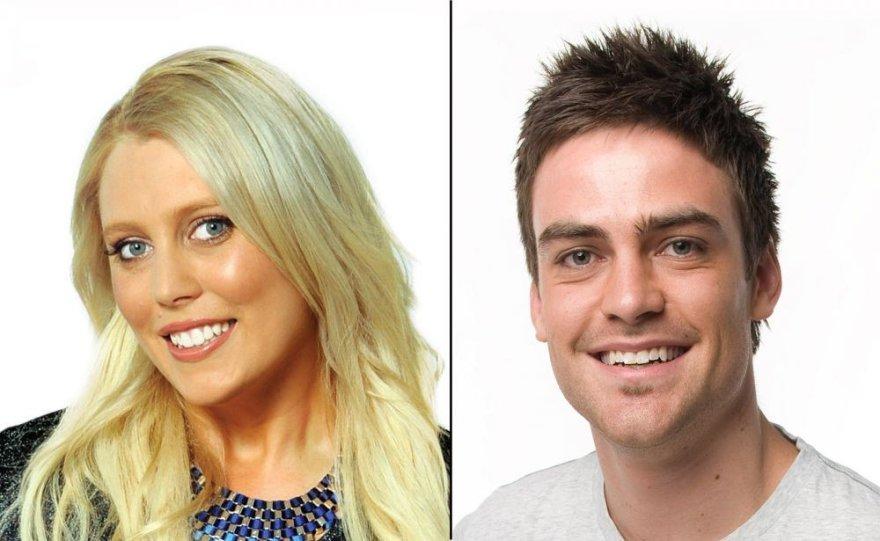 Australijos radijo stoties laidos vedėjai pokštaudami priskaldė malkų: Mel Greig (kairėje) ir Michaelas Christianas nušalinti