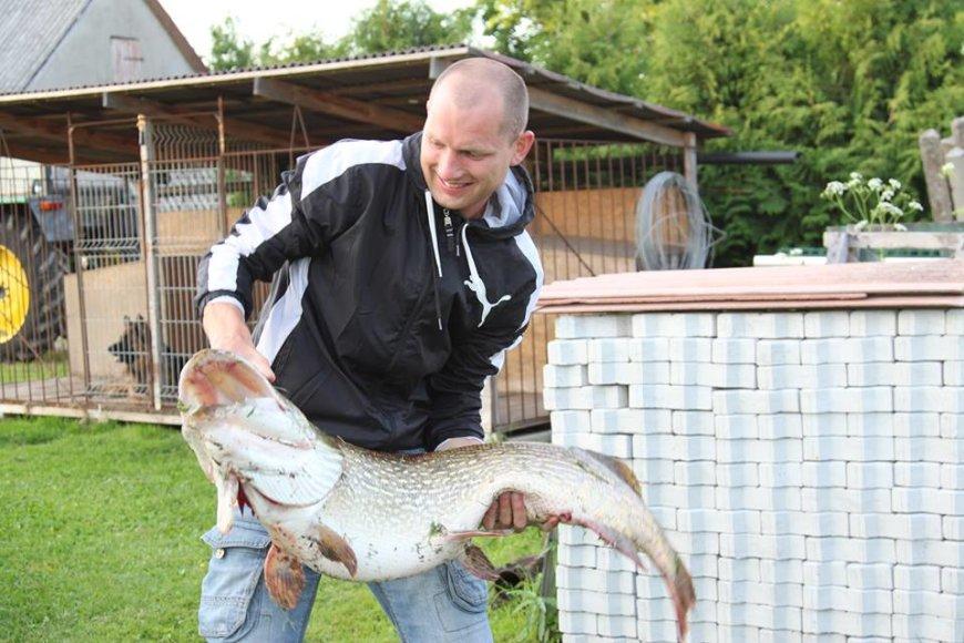 Andriaus S. 15 kg lydeka iš Nemuno