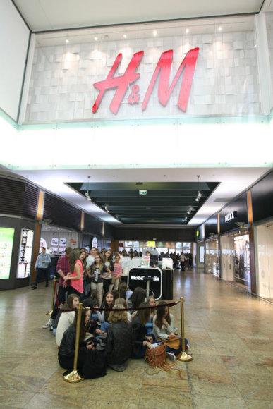"""Vilniuje atidaryta """"H&M"""" parduotuvė"""