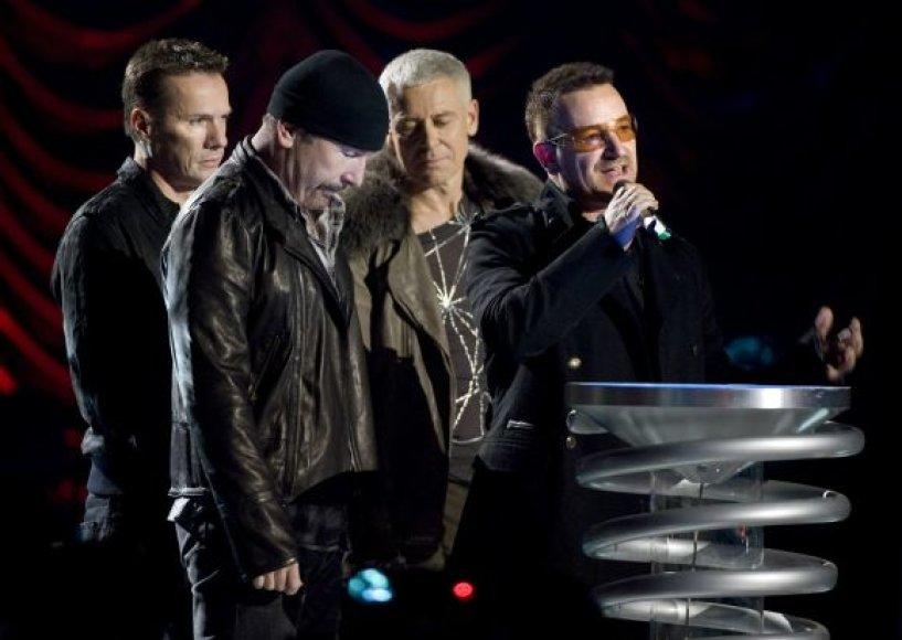 U2 koncertas prie Brandenburgo vartų
