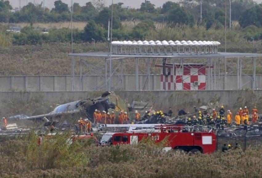 Kinijoje nukrito Zimbabvės lėktuvas